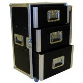 TT-3 Small 3 Drawer Tech Case